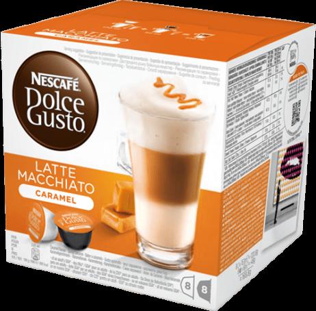 Capsule Nestlè Latte Macchiato Caramello